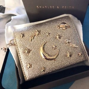 Handbags - Charles & Keith Galaxy Embellished Cardholder